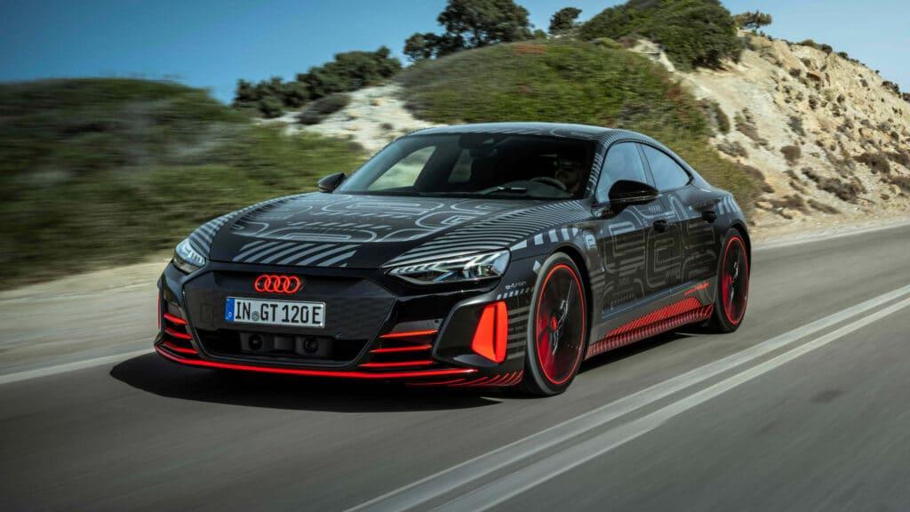 Audi e-tron GT, puissance électrique