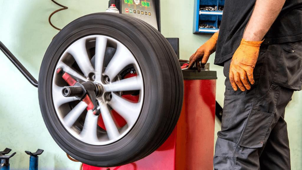 Vulcanisateur et équilibrage de roue