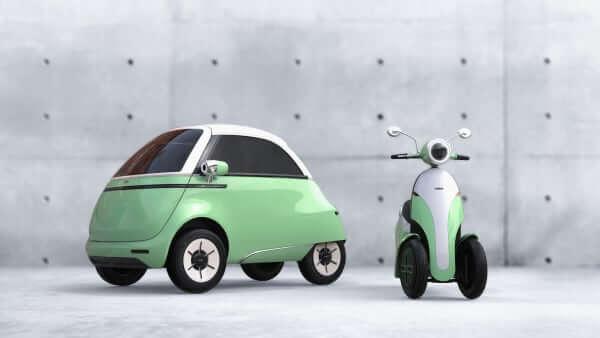 Isetta électrique verte projet start up
